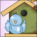 Clipart ~ Birds & Bird House