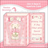 Grin N Bear It Aperture Card & Envelope