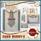 Gentleman's Shirt Shaped Fold Card Kit