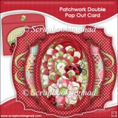 Patchwork Double Pop Out Card & Envelope