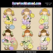 Holly Loves Easter ClipArt Collection