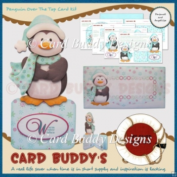Penguin Over The Top Card Kit