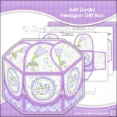 Just Ducky Hexagon Gift Box
