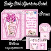 Baby Girl Aperture Card