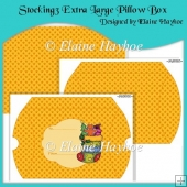 Stocking 3 Extra Large Pillow Box