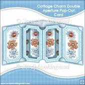 Cottage Charm Double Aperture Pop Out Card