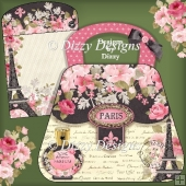 Parisian Bag Card