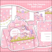 Fairy Tale Dreams Shelf Card & Card Box