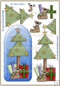 Oh Christmas Tree PDF Decoupage Download