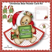 Christmas Bear Rocker Card Kit