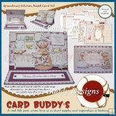 Grandma's Kitchen Easel Card Kit