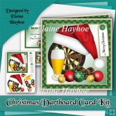 Christmas Dartboard Cardfront Kit