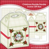 Christmas Bauble Bauble Scene Gift Box