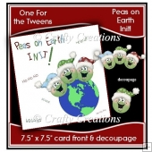 Peas on Earth Card Front