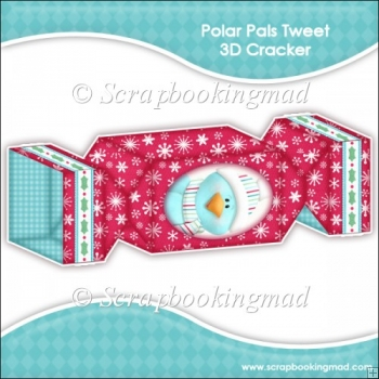 Polar Pals Tweet 3D Cracker Gift Box