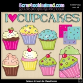 I Love Cupcakes Collection - SPECIAL EDITION