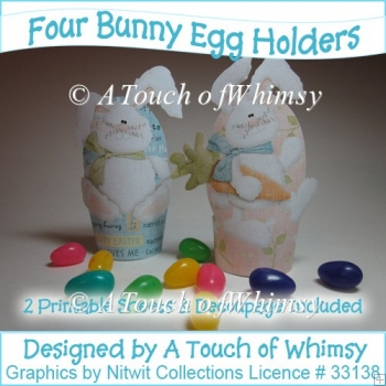 Easter Bunny Egg Holders
