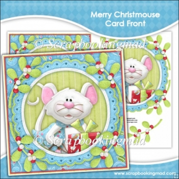 Merry Christmouse Card Front