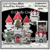 Christmas Knight 3D Secret Box Keepsake