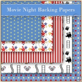 5 Movie Nights Backing Papers Download (C90)