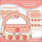 So Berry Precious 3D Handbag