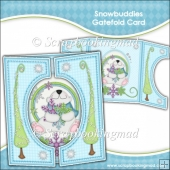 Snowbuddies Gatefold Card