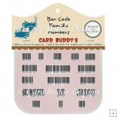 Bar Code Family Members Pack - CU/PU