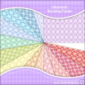 14 Diamond Backing Paper Download