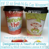 Elf 12 oz Grab N Go Cup Wrappers