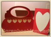 Valentines Handbag & Card - Craft Robo GSD File