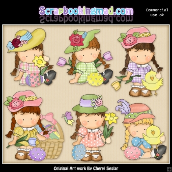 Agnus Easter Wishes ClipArt Collection