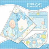 Bundle Of Joy Pyramid Card