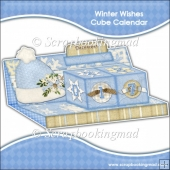 Winter Wishes Cube Calendar