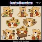 Sweet Stuffins Happy Fall ClipArt Collection