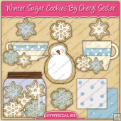 Winter Sugar Cookies Graphic Collection - REF - CS