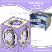 Rose Cameo Secret Treasure Box Happy Birthday OR 40th Today