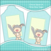 Once Upon A Time Boy Gift Tags - REF T708 & REF T709