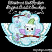 Christmas Owl Rocker Stepper Card & Envelope