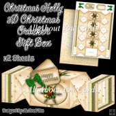 Christmas Holly Christmas Cracker Gift Box