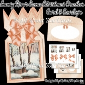 Snowy River Christmas Cracker Card & Envelope