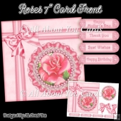 Roses 7 Inch Card Front