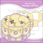Time For Tea Hexagon Gift Box