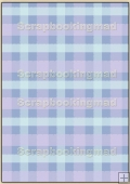 Backing Papers Single - Blue Gingham - REF_BP_46
