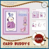Snow Friends Square Card Front