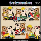 Fuzzy Fozzy Trucks And Stuff ClipArt Collection