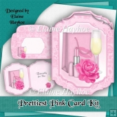 Prettiest Pink Shaped Card Kit