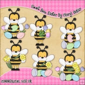 Sweet Beez Easter ClipArt Graphic Collection