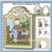 Benny Bunny Shaped Card Kit