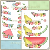 Fruit N Flowers PDF Decoupage Download