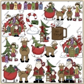 North Pole ClipArt Graphic Collection